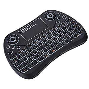 Socobeta QWERTY Keyboard 2.4G Mini Durable Wireless Touchpad for IOS / / PC