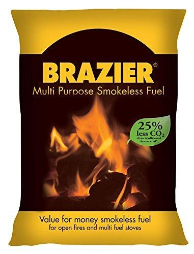 Brazier Feuerschale Brennstoff Mehrzweck, rauchfrei, 10 kg, 10 kg