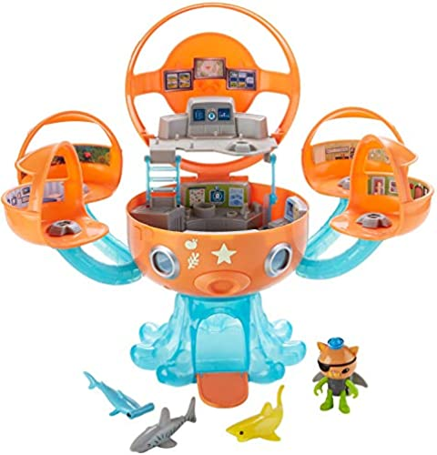 Octonauts dyt06 topod Shark Adventure Spielset