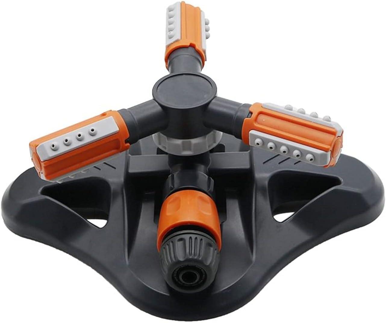 LJLCD Connector Adjustable Sacramento Mall Manufacturer direct delivery 360 3-arm Sprinklers Rotating Degree