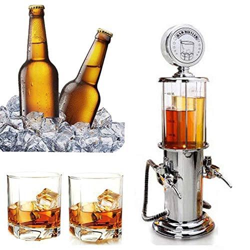 Nyfcc Gasolinera Vino cóctel dispensador de Bebidas Que Sirve Cerveza Hine Doble Bombas del dispensador de licores, Cerveza de Jugo de Alcohol del Vino Soda Bar Accesorio