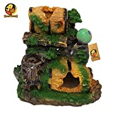 Foodie Puppies Natural Looking Drums of Heaven Aquarium Decoration Ornaments/Toy for Fish Tank