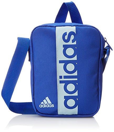 Adidas Linear Performance Organizador Bolsa de Deporte, Color hi-Res Blue s18/Blue Tint s18, tamaño 21 x 15 x 5 cm