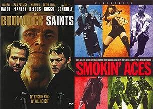 Crazy Wild Shoot Em' Up Shoot Outs Antihero Pack: The Boondock Saints & Smoking Aces 2- DVD Bundle