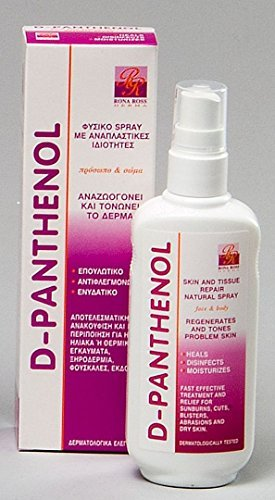 Rona Ross D-Panthenol Skin and Tissue Repair Natural Spray 160ml