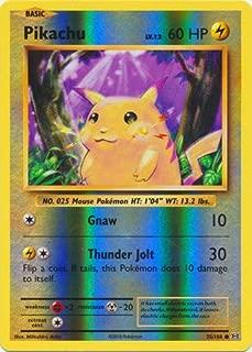 pikachu holo card