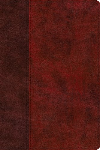 Compare Textbook Prices for ESV Gospel Transformation Study Bible: Christ in All of Scripture, Grace for All of Life TruTone, Burgundy/Red, Timeless Design  ISBN 9781433563614 by ESV Bibles by Crossway