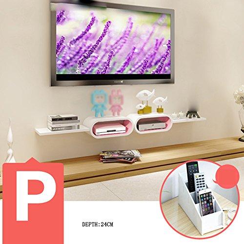 Wanddecoratie MEIDUO set-top box planken TV kast TV wandplanken woonkamer muur scheidingswanden muur plank (meerdere stijlen beschikbaar) Wall Art