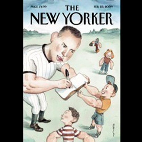 The New Yorker, February 23rd, 2009 (Jane Meyer, Evan Ratliff, Robert Sullivan) cover art