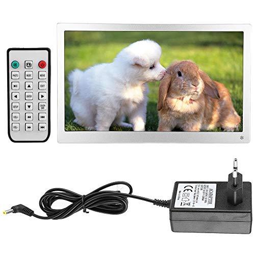 Digitale fotolijst, 15,6-inch IPS-scherm 1920 * 1080, elektronische filmspeler (EU)