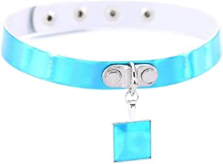 Punk Harajuku Heart Round Bell Leather Cross Necklace Women Bondage Choker Gothic Necklace Jewelry Rock Sexy Jewelry Gift