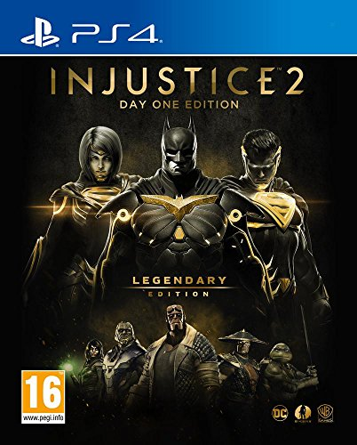 INJUSTICE 2 LEGENDARY EDITION – Edition limitée Steelcase – Inclus un Coin Collector - PlayStation 4 [Importación francesa]