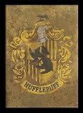 Pyramid International Harry Potter (Hufflepuff Crest) 30x40
