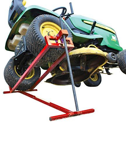 VOUNOT Lève Tracteur Tondeuse Lève tondeuse télescopique - Gain de Place 30% Supporte 400kg Max