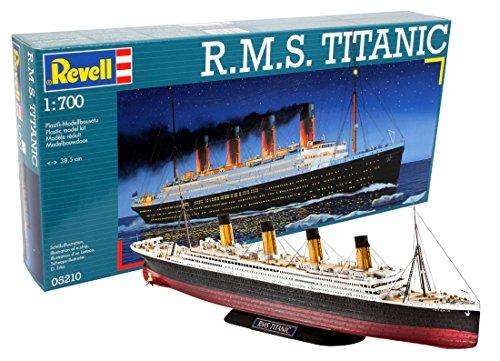 Revell- RMS Maqueta R.M.S. Titanic, Kit Modello, Escala 1:700 (5210) (