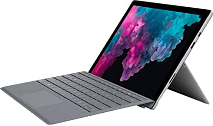 Microsoft Surface Pro 5 Or 6 Bundle 12.3 Inch PixelSense Touchscreen Intel Core M3 / i5-8250U Windows 10 Home Or Professional with Type Cover, Pen, Office 365 1 Year,Fingerprint Typecover