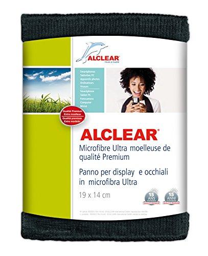 ALCLEAR 950003a Panno per Display e Occhiali in Microfibra, 19x14 cm