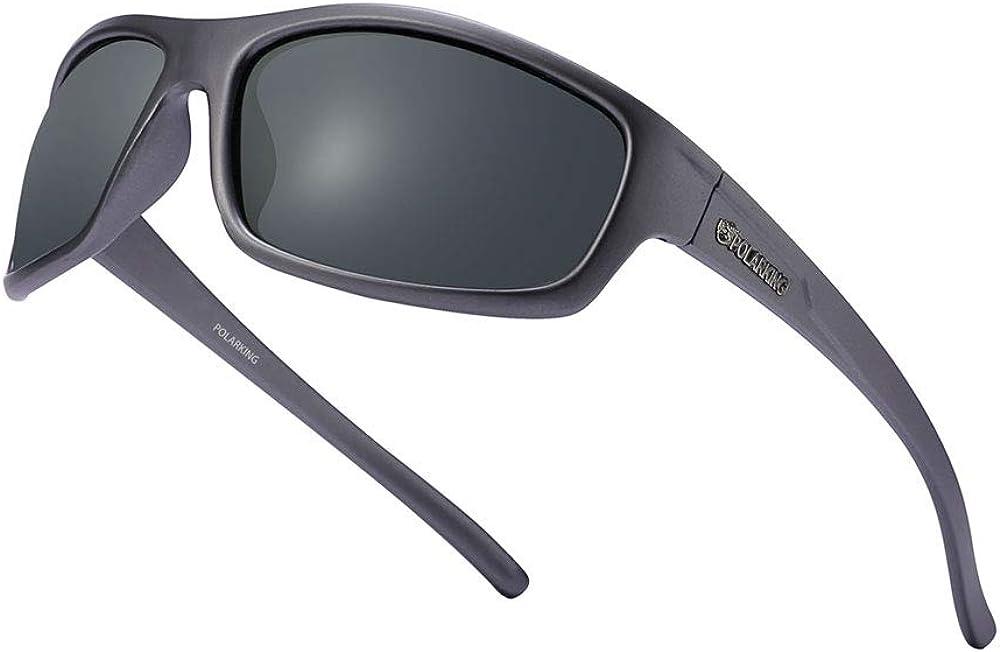 POLARKING 2 PACK Polarized Selling rankings Sport for Sunglasses Max 61% OFF Finish Matte Men