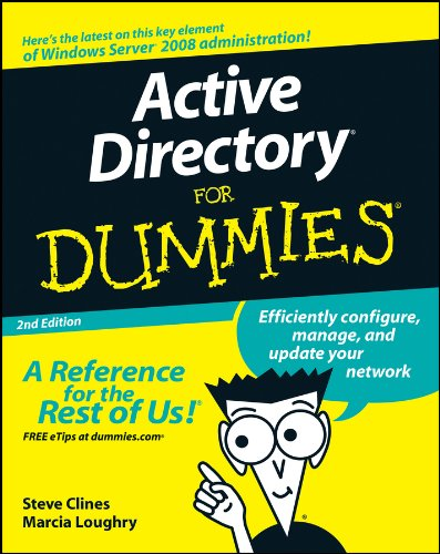 Active Directory For Dummies (English Edition)