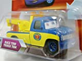 Disney Pixar P7074 Cars Lenticular Eyes #56 Race Tow Truck Tom 1:55 Diecast Vehicle Car