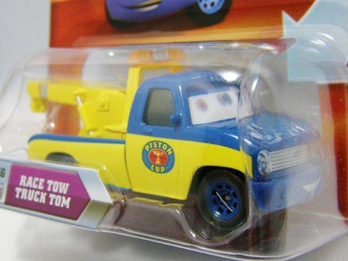 Disney Pixar Cars Race Tow Truck Tom # 56 (lenticular, look! my eyes change!) - Véhicule Miniature - Voiture