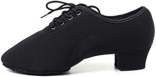 Chaussures de Danse Latine pour Adultes Chaussures Oxford Professeur de Danse Chaussures de Danse carrées Modernes Chaussures de Danse Sailor Chaussures de Danse de Salon