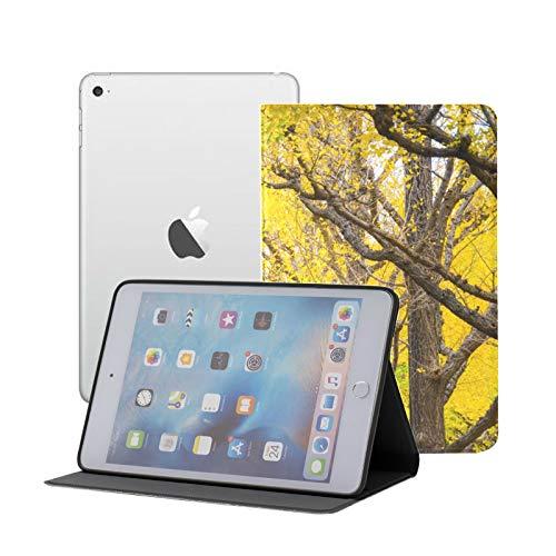 Funda para iPad Pro 11'2020/2018 con portalápices, Inteligente, Ligera, Suave, Trasera de TPU, Funda Protectora Premium con función de Reposo/activación automática, Ginkgo Shrine Outer Garden Gink