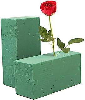 Easy-topbuy Fleur Oasis Floral Mousse Fleur Brique Fleur Titulaire Fleuriste Blocs à Sec Blocs à Sec Oasis pour Fleur De M...