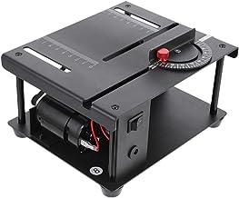 ARTIBETTER Miniatur Tabell Mini Elektrisk Bord Miniatyr Precision Bord Bänkbord Trä Working Craftsman Verktyg