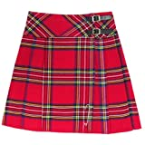 Tartanista - Kilt/Falda Escocesa hasta la Rodilla Mujer - 50 cm (20') - Royal Stewart - EU34 UK6