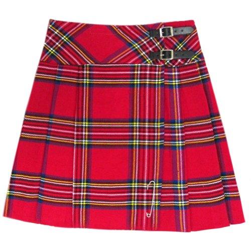 Tartanista - Kilt/Falda Escocesa hasta la Rodilla Mujer - 50 cm (20