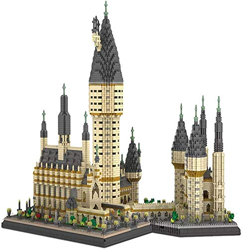 ALBB Castillo de construcción de fama Mundial Conjunto de Modelos 3D DIY ensamblaje de partículas de Diamante Juguete Bloque de construcción niños cumpleaños