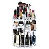 alvorog Organisateur de Maquillage 360° Rotatif Épaississement Présentoir Cosmétique Réglable Vanity de...