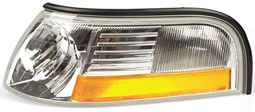 Dorman 1650250 Front Driver Side Turn Signal / Parking Light Assembly for Select Ford / Mercury Models
