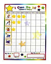 "Kids ""I Can Do It"" Reward and Responsibility Chart"