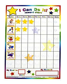 Kenson Kids  I Can Do It  Reward and Responsibility Chart 11 X 15.5-Inch