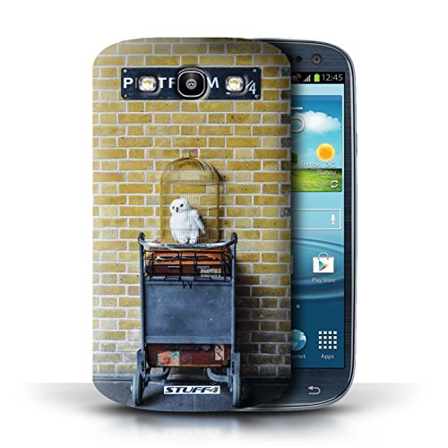 STUFF4 Telefoonhoesje/Hoes voor Samsung Galaxy S3/SIII/Platform 9 3 Qrts Design/London Sites Collection