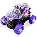 kimonca Camión Monstruo Juguete Grande Coche de Deriva 360° Rotación con Sonido y Luz Regalos para 3 4 5 Años Niños Niñas