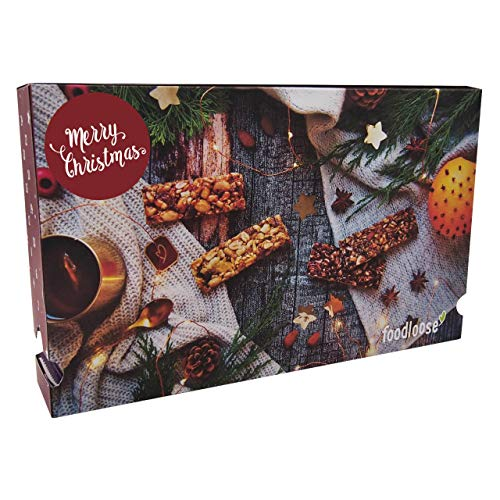 foodloose Nussriegel-Adventskalender 2020 bio und vegan