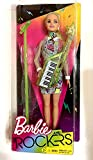 You Can Be Anything Barbie and the Rockers Doll measures approximately 12 inches tall with Lime Keytar and Coordinating Micropho
