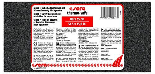 SERA Thermo-Safe - Tapis de sécurité et Isolation Thermique pour Aquarium