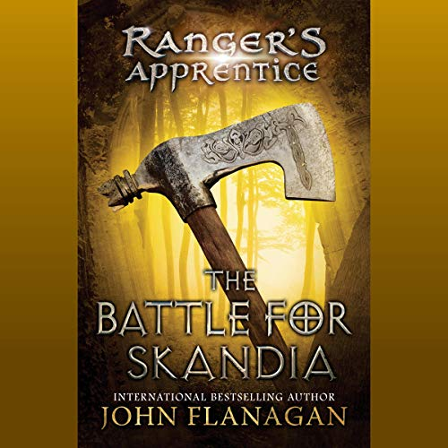 The Battle for Skandia     Ranger's Apprentice, Book 4              By:                                                                                                                                 John Flanagan                               Narrated by:                                                                                                                                 John Keating                      Length: 9 hrs and 34 mins     49 ratings     Overall 4.9