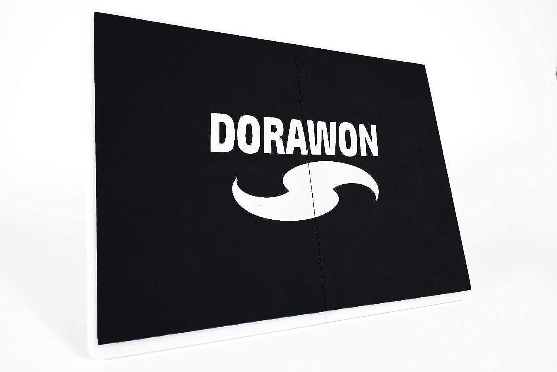 Dorawon Rupturbrett, wiederverwendbar, 31,5 x 23,5 cm, Unisex, Erwachsene, Schwarz B07HHFKHN6  Nutzen Sie Materialien voll aus