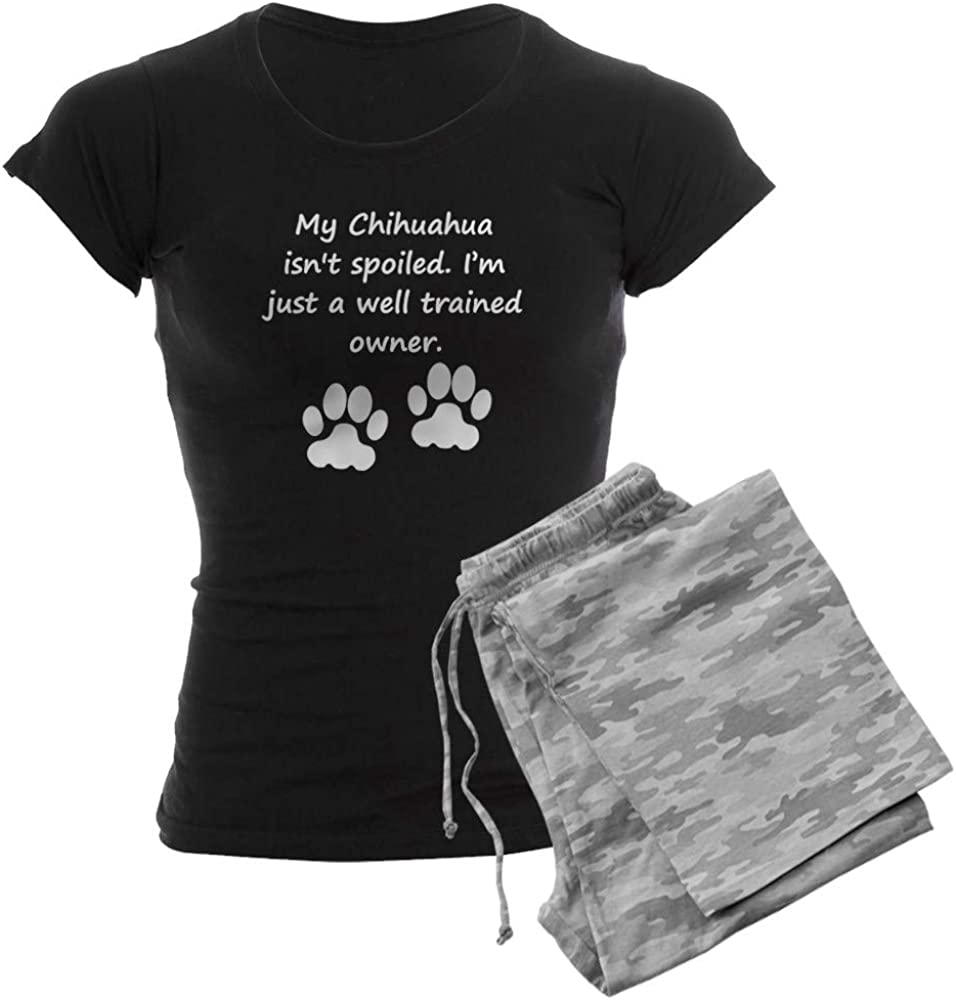 CafePress Well Trained Chihuahua PJs Women's Owner Pajamas 通販 ショップ
