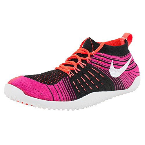 Nike Hyperfeel Cross Elite Womens Black/White/Crimson/Fireberry Athletic Sneakers (8)