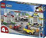 Stazione di Servizio e Officina 60232 Costruzioni Compatibili con Lego