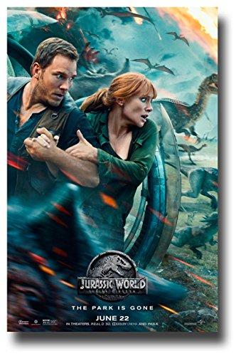 Jurassic World 2 Fallen Kingdom Poster Movie Promo 11 x 17 Run