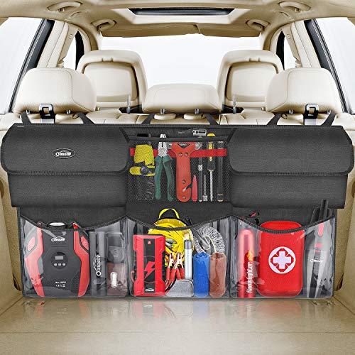 Oasser Kofferraum Organizer Auto mit wasserdichten Taschen Auto Aufbewahrungstasche Autotasche Kofferraumtasche Auto