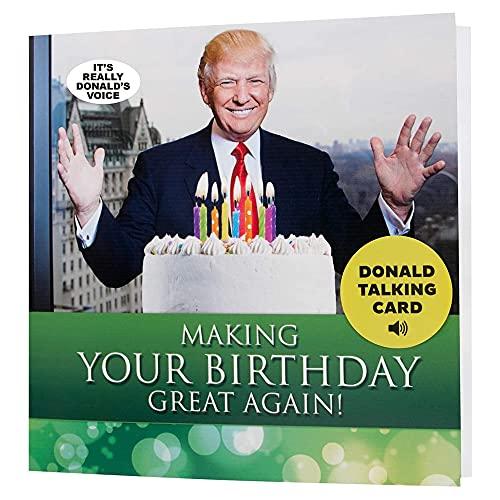 Donald Trump Talking Happy Birthday Card - Wishes You Happy Birthday...