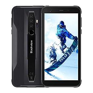 "Blackview BV6300 Pro SIMフリー スマホ本体 Android 10 タフネススマートフォン 6GB RAM +128GB ROM Helio..."""
